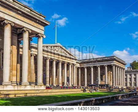 British Museum In London Hdr