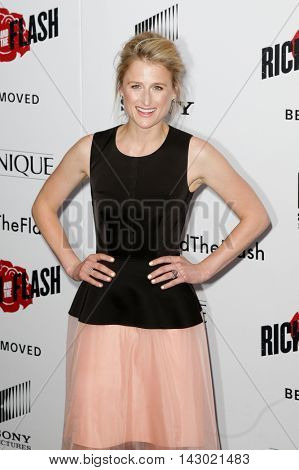 NEW YORK-AUG 3: Actress Mamie Gummer attends the 'Ricki And The Flash' New York premiere at AMC Lincoln Square Theater on August 3, 2015 in New York City.