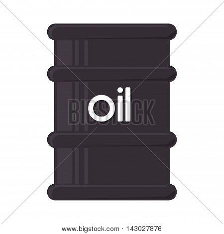 oil bottle gallon liquid tool fuel mechanic industry vector illustration isolated