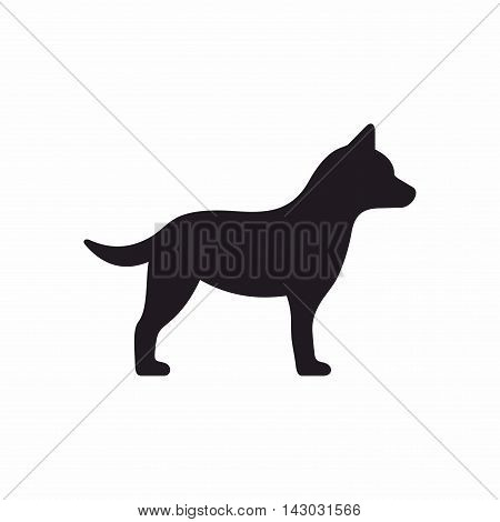 The domestic dog is a domesticated canid which has been selectively bred over millennia for various behaviours, sensory capabilities, and physical attributes.