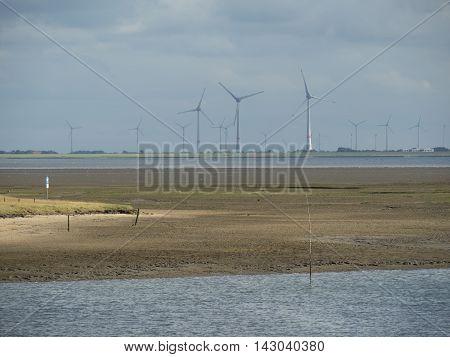 the Harbor of the Island of spiekeroog
