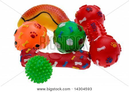 Plastic Toy For Dog Close Up