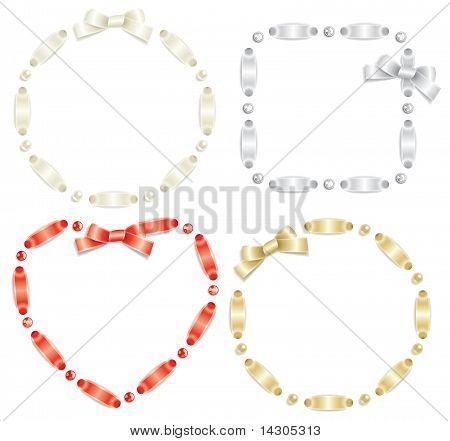 Ribbon frame set