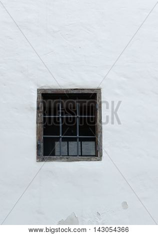 Window With A Grid