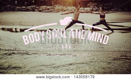 Body Mind Soul Attitude Choice Spiritual Positive Concept