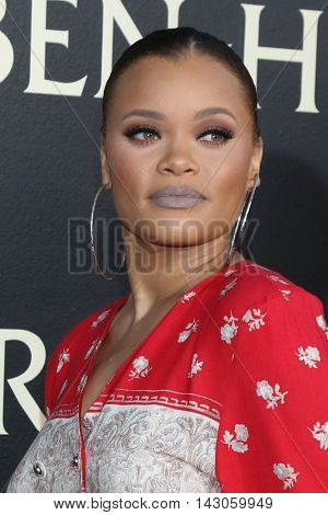 LOS ANGELES - AUG 16:  Andra Day at the