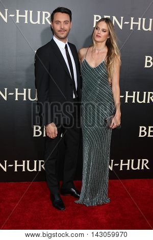 LOS ANGELES - AUG 16:  Jack Huston, Shannan Click at the