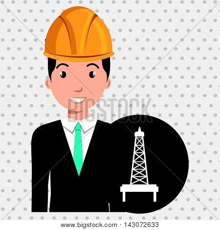 man gallon gasoline icon vector illustration graphic