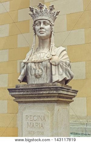 Bust Of Queen Marie Of Romania