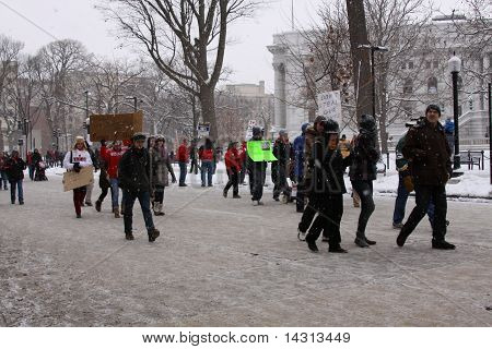Madison, WI Protests