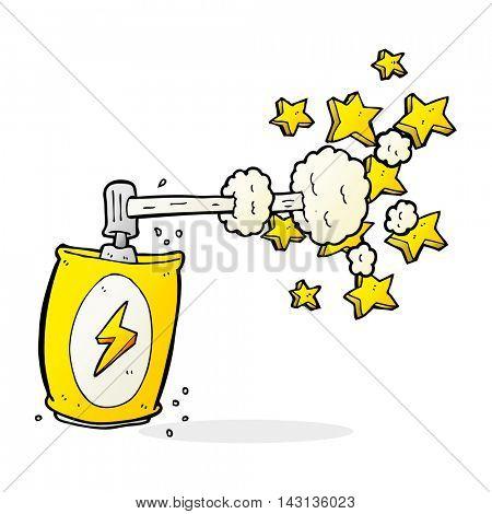 cartoon aerosol