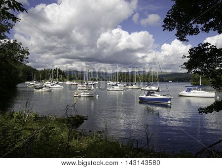 Peace and Tranquility on Lake Windermere, Cumbria, England