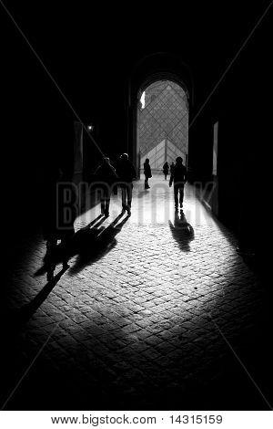 Shadows in the sunshine