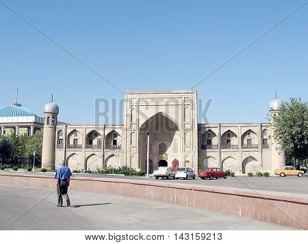 Almazar Madrassah in Tashkent the capital of Uzbekistan