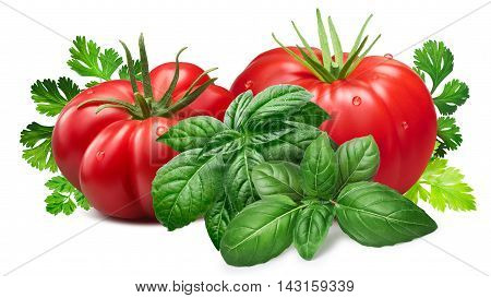 Ribbed Tomatoes With Herbs, Paths