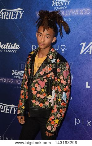 LOS ANGELES - AUG 16:  Jaden Smith at the Variety Power of Young Hollywood Event at the Neuehouse on August 16, 2016 in Los Angeles, CA
