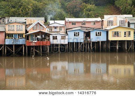 Palafito Häuser
