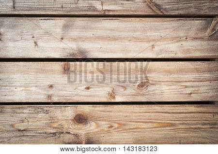 Old wood panels used as backround. Hard wood plank wall.