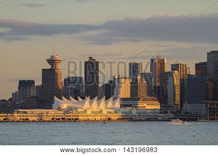 This photo is looking south towards downtown Vancouver.