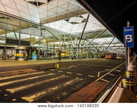 Stansted Airport At Night (hdr)