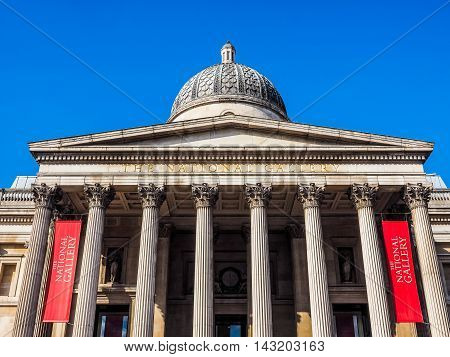 National Gallery In London (hdr)