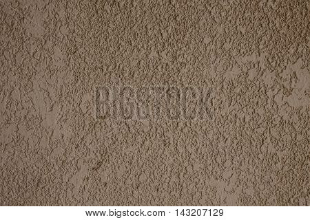 Old Brown cement wall background and texture.