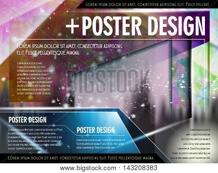 Colorful Poster Template Design