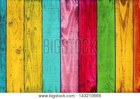 Backdrop of color wood texture. Vintage color tone style.