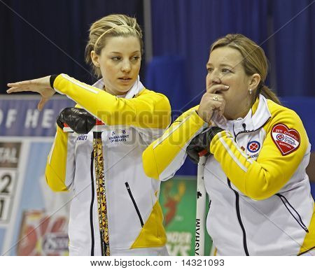 Scotties Curling Meakin Overton-Clapham