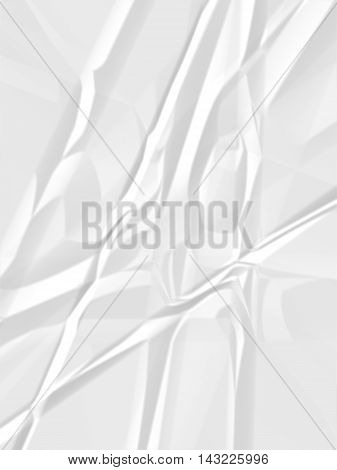 art white crease paper texture illustration background