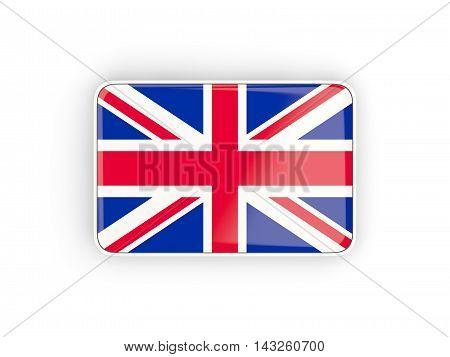Flag Of United Kingdom, Rectangular Icon