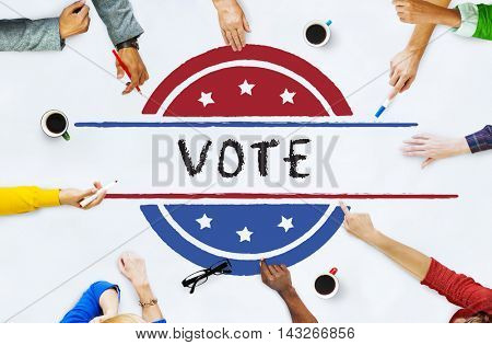 Politics Government Referendum Democracy Vote Concept