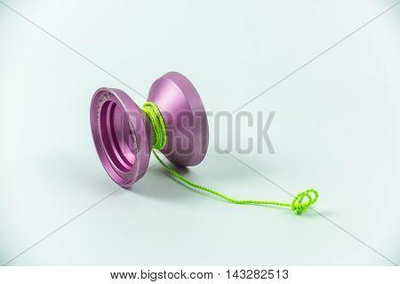 toy yo yo isolated on white background
