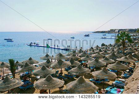 Beautiful view of Sharm el sheikh, EGYPT.