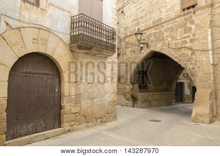 For the people of Cretas in Teruel, Aragon, Spain.