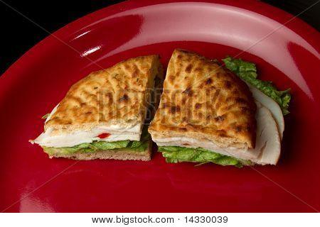 Deluxe Turkey Deli Sandwich