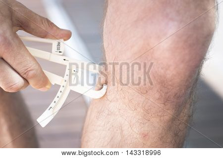 Fat Caliper Measuring Bodyfat