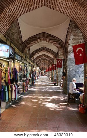 Koza Han In Bursa City, Turkey