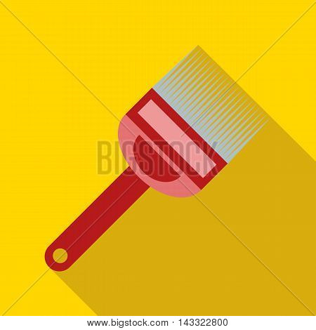 Fork for uncapping honeycombs icon in flat style with long shadow. Tool symbol