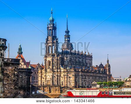 Dresden Hofkirche (hdr)