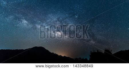 milky way galaxy background, night sky with milky way background, astronomy science and beautiful milky way galaxy, astronomy background for presentation document, milky way galaxy concept.space time