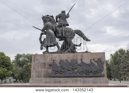 Rostov-on-Don Russia -August 142016: Monument