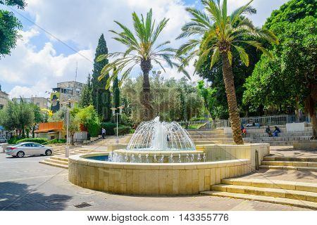 Binyamin Garden In Haifa