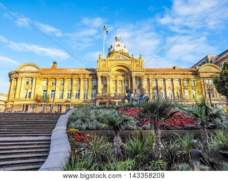 City Council In Birmingham Hdr