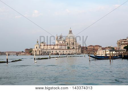 Basilica di Santa Maria della Salute in Venice Italy