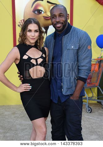 LOS ANGELES - AUG 09:  Allison Holker & Stephen 'twitch' Boss arrives to the