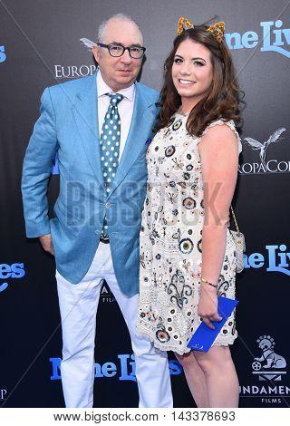 LOS ANGELES - AUG 01:  Barry Sonnenfeld & Chloe Sonnenfeld arrives to the