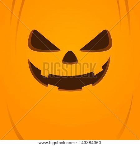 Vector stock of jack o lantern face halloween background