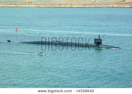 Ship Submersible Ballistic Nuclear US
