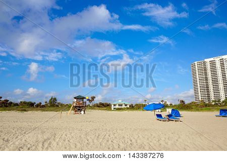 Singer Island beach at Palm Beach Florida in USA